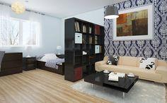 15 τρόποι για να διαχωρίσεις την κρεβατοκάμαρα, σε μικρό διαμέρισμα ή studio!