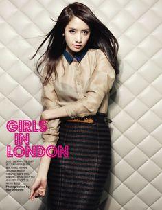 #SNSD #YoonA on Bazaar magazine