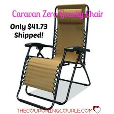 WOW!! Get a Zero Gravity Chair for only $41.73 shipped!! Best price around! Perfect for sitting on the patio or going to a ball game!  Click the link below to get all of the details ► http://www.thecouponingcouple.com/caravan-sport-zero-gravity-chair-only-41-73-shipped/  #Coupons #Couponing #CouponCommunity  Visit us at http://www.thecouponingcouple.com for more great posts!