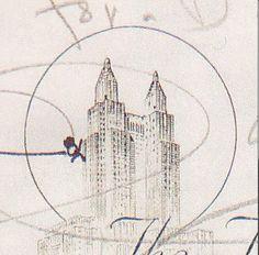 #MarilynMonroe1955′te Surgeon Story hikayesini yazarken #NewYork'ta Waldorf Astoria Oteli'nde kalıyordu. Oteldeki deftere, binadan atlayan bir figür çizdi / #MarilynMonroe drew a stick figure falling from the Hotel.... #arts #sanat #celebrity