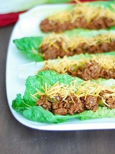 sloppy joe lettuce wraps