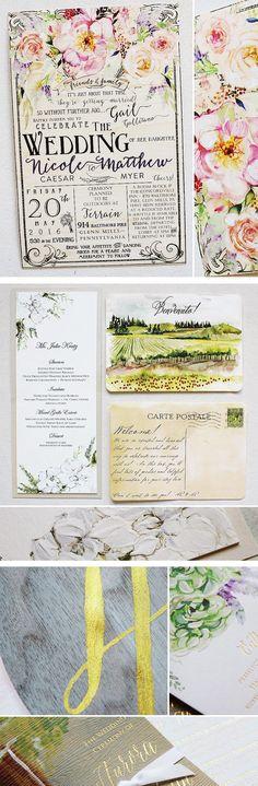 #woodweddinginvites #watercolor #handmade #momentaldesigns