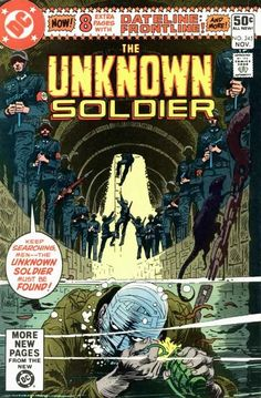 """""""Crack of Doom!"""": The synopsis for this issue has not yet been written. Featured Characters: Unknown Soldier"""