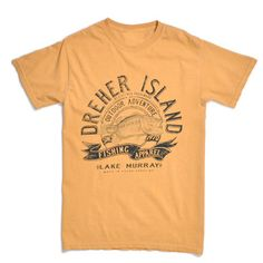 Get your very own Dreher Island Fishing T-shirt.  Makes a great gift!  #DreherIsland #SCStateParks