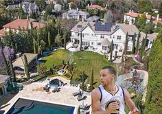 NBA Homes: Stephen Curry's East Bay House (Pictures) - Basketball Bicker – Stephen Curry's sick East Bay home in San Fran came at a $5.775-million price tag. It has five bedrooms and 8.5 bathrooms. Check out pictures of Steph Curry's house.