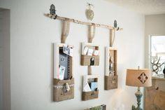 Small Spaces Decorative Wall Canvas Organizer