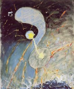 Chaos, Nr. 2, 1906 by Hilma af Klint. Abstract Art. abstract