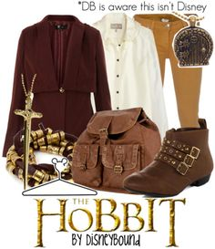 """Click through for [currently] 1 tag """"The Hobbit"""" on the DisneyBound fashion blog"""