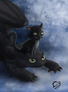 Happy friday by Bravure.deviantar… on Happy friday by Bravure. Toothless Drawing, Toothless And Stitch, Hiccup And Toothless, Httyd, How To Train Dragon, How To Train Your, Croque Mou, Baby Animals, Cute Animals