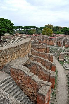 Theatre, Ostia Antica, Wanted to go here ever since I read those children's books set there years ago.