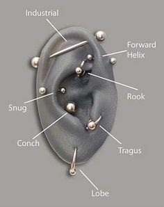 Ear pircings
