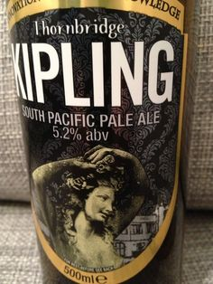 Thornbridge Kipling  Brewed by Thornbridge Style: American Pale Ale Bakewell, England