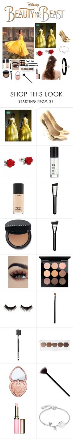 """Untitled #56"" by maybe-gaybe ❤ liked on Polyvore featuring Disney, Emma Watson, Giuseppe Zanotti, Charlotte Russe, MAC Cosmetics, Bobbi Brown Cosmetics, Mary Kay, Too Faced Cosmetics, Clarins and Betsey Johnson"