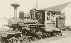 1900s Steam Train | Shortest Steam Railroad in the World