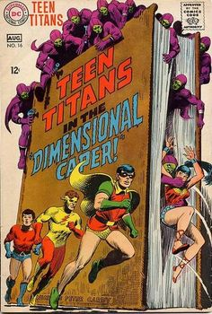 Off Of The Teen Titans 74
