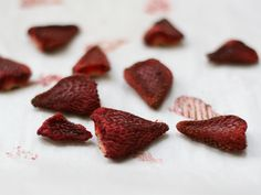 One of my favorite things at Trader Joes is the dried berry mix but I always end up picking the strawberries out of the mix before anything else is eaten so I looked into drying some myself in the ...