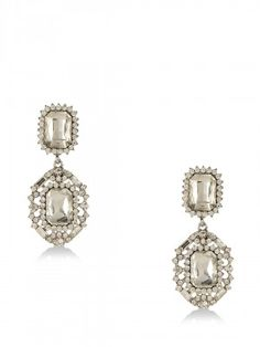 FOREVER NEW Statement Stone Drop Earrings from koovs.com Diamond Earrings, Drop Earrings, Earrings Online, Forever New, Stone, Jewelry, Women, Fashion, Moda