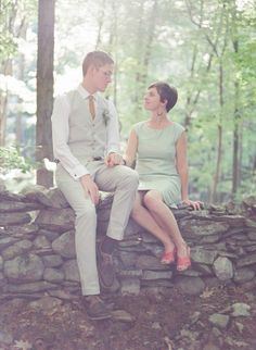 Backyard Casual Wedding