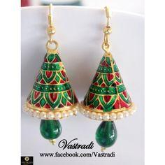 F76 Fancy & Funky Earrings - Earrings by Vastradi