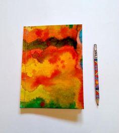 Batik handmade and handpainted notebook.