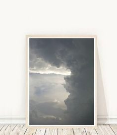 Abstract Art Print Cloud Print Printable Wall by honeytreeprints