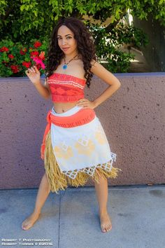 So in November of Disney will be introducing their newest princess, Princess Moana! She's a Polynesian adventurer with a free spirit, and I already know I'm going to see this movie the earlie. Disney Princess Halloween Costumes, Disney Costumes, Adult Costumes, Moana Costumes, Moana Costume Diy, Mermaid Costumes, Couple Costumes, Pirate Costumes, Group Costumes