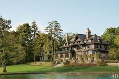 A Renovated Upstate New York Lakeside Getaway by McAlpine Booth & Ferrier Interiors Photos | Architectural Digest
