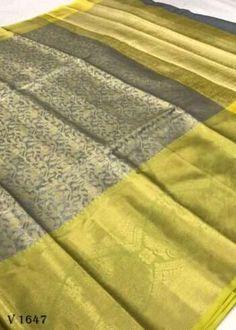 Sarees Online | Buy Sarees Online |@ ibuyfromindia.com Kora Silk Sarees, Kanjivaram Sarees, Ethnic Sarees, Indian Sarees, Fancy Sarees, Party Wear Sarees, Festival Wear, Festival Wedding, Green Saree