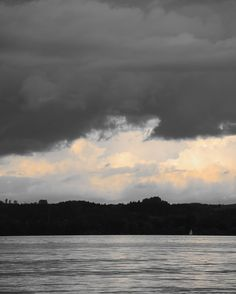 Evening Sky over Lake Constance by Karl Seitinger Evening Sky, Celestial, Sunset, Artwork, Artist, Photography, Outdoor, Bregenz, Outdoors