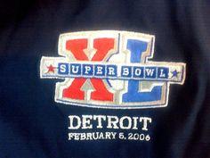 NFL Super Bowl 2006 Jacket Detroit #Seahawks #Steelers no lining Men's XL #NFL #BasicJacket