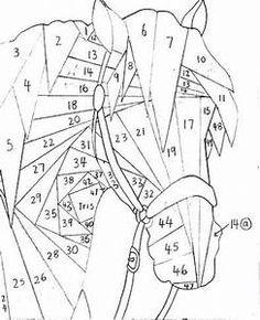 Ikebana Iris Folding Patterns - Patterns Kid
