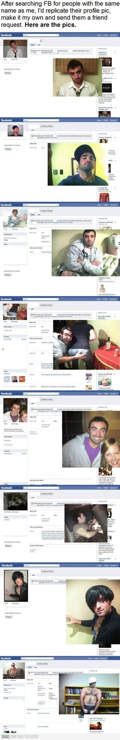 FB profile pic replication lvl: over 9000