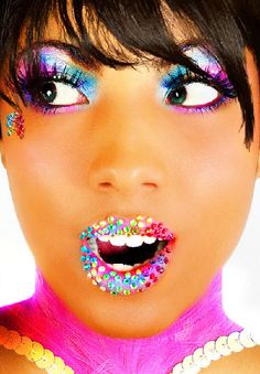 I wish make up like this was okay to wear everyday...