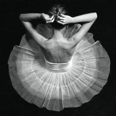 i want to be a ballerina.