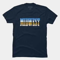 Midwest. Typography. Retro.