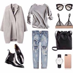 I appreciate the simplicity of the clothing and accessories. Classic Style, Fashion Outfits, Polyvore, Ideas, Fashion Suits, Classy Style, Fashion Sets, Thoughts, Conservative Style