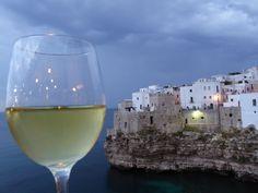 """Cena, """"Il Bastione""""(Ristorante) di """"Hotel Covo dei Saraceni"""", Polignano a Mare, Puglia Italia (Luglio)"""