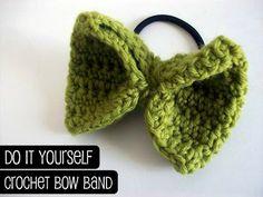 Crochet Bow Band
