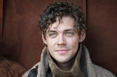Tom Payne from The Physician. Just look at those eyes!!!