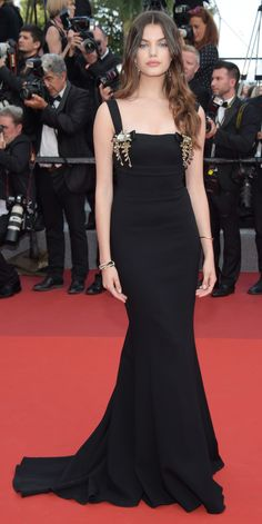 All the Celebrity Looks from the 2017 Cannes Film Festival Red Carpet - Barbara Palvin  from InStyle.com
