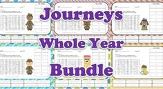 Journeys Second Grade Vocabulary - Complete Bundle of all 30 Lessons