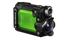 The 100 Coolest Tech Gadgets of 2017  -  October 4, 2017:  OLYMPUS TOUGH TG-TRACKER  - The Olympus Tough TG-Tracker has an ultra wide-angle stabilized lens, five built-in sensors (GPS, compass, barometer, accelerometer, and thermometer), and Wi-Fi connectivity. It can capture 4K content and survive water up to 100 feet in depth without a housing.