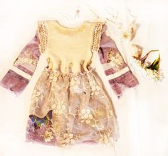 beautiful magical little girls dress