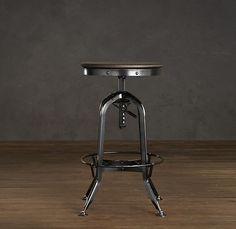 Industrial stool.