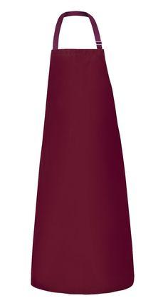 DELANTAL IMPERMEABLE Modelo: 202 Delantal delantero a rayas, con cinta de cuello regulable. Hecho de un ligero y cómodo tejido poliéster revestido con poliuretano. Destinado en particular para los trabajadores de los bares y restaurantes. El producto cumple con los estándares de las normas europeas: EN ISO 13688 y EN 343.
