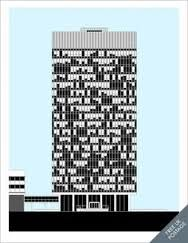jonathan wilkinson sheffield - 'The Arts Tower' print