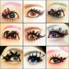 Paper eyelash