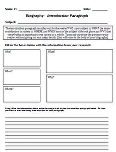 Scaffolding graphic organizers to help students write a biography.  Perfect for the ELs...or really any of the kids.  So hard to teach writing!  This helps!