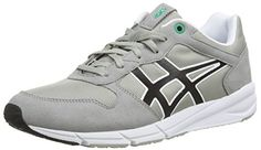 Asics Shaw Runner, Unisex-Erwachsene Sneakers, Grau (light Grey/black 1390), 39 EU - http://on-line-kaufen.de/asics/39-eu-asics-shaw-runner-unisex-erwachsene-3