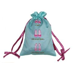 Satin shoe bag from Bombay Duck//Wedding shoe bag// Cute travel shoe bag // loveshoes// protect your fave heels//